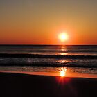 Bright Orange Sunrise by MadVonD