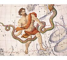 Constellation of Ophiucus and Serpens Photographic Print