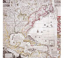 A Map of the British Empire in America with the French settlements adjacent thereto Photographic Print