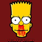Party Hard (Print Version) by Rodrigo Marckezini