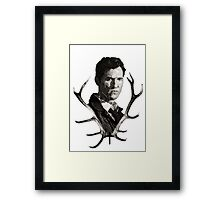 True Detective, TSHIRT  Framed Print