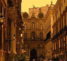 Sicily at dusk by Beechmead
