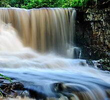 Hunneberg Waterfall by Mark Williams