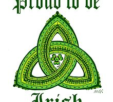 Irish Pride Clover Trinity by wildwildwest
