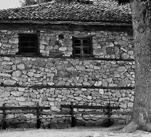 Two benches in Koprivshtitsa by DavyRedbone