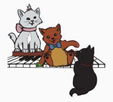 Piano paint Kids Clothes