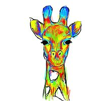 Wild Giraffe by devereuxdesigns