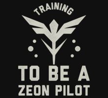 Training to be a Zeon Pilot by printproxy