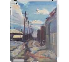 Behind the City of Craig iPad Case/Skin