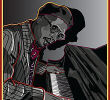 THELONIUS MONK JAZZ LEGEND by Larry Butterworth