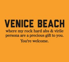 Venice Beach Abs by Location Tees