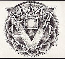 Dot-work Mandala by John Z Newkumet