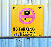 No Parking © by Ethna Gillespie