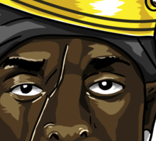 King Omar Sticker