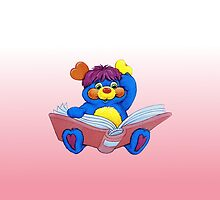 Popples -  with Book - Phone Cases by DGArt