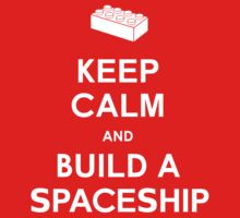 Keep Calm and Build a Spaceship by cattocc