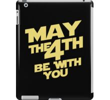 Star Wars - May the 4th iPad Case/Skin