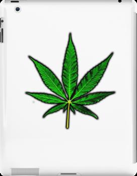Basic Pot Leaf by CannabisCloth