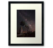 Stellar Convergence Framed Print