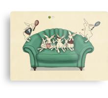 armchair tennis  Metal Print