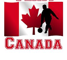 Bowling Canadian Flag Team Canada by kwg2200
