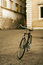 lonely biccycle by saaton
