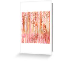 Tiger in the Trees Greeting Card