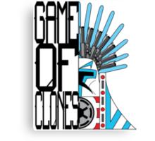 Game of Clones Canvas Print