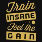Train Insane Feel the Pain by Six 3