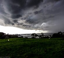Stormy Sky, Silverdale, UK by burlives