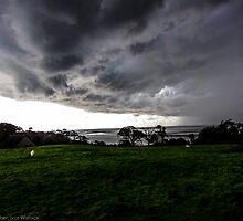 Stormy Sky, Silverdale, UK by burlives