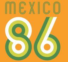 Retro Mexico '86 vintage soccer shirt II by Speedy78