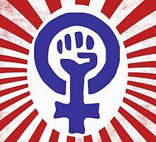Feminist Logo by Boogiemonst
