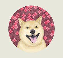 pixel shiba by pucca