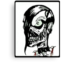 Misfits Skull Artwork Canvas Print