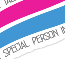 Your most special Style Sticker
