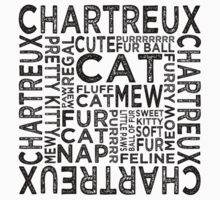 Chartreux Cat Typography by Wordy Type
