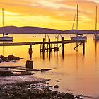 Battery Point Sunrise HDR - Sandy Bay, Tasmania, Australia by PC1134