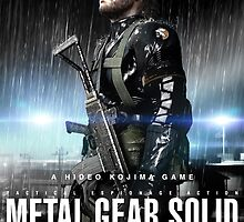 Metal Gear Solid V Ground Zeroes Poster by xXMcxWeinerXx
