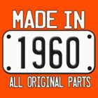 MADE IN 1960 by mcdba