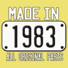 MADE IN 1983 by mcdba