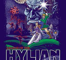Hylian Wars by cs3ink