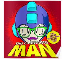 The Smiths 8-bit Project - This Charming Mega Man Poster