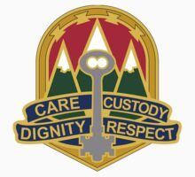 193rd Military Police Battalion - Care, Custody, Dignity, Respect by VeteranGraphics