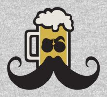 Beer Mustache by Paducah