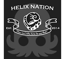 Helix Fossil Nation Photographic Print