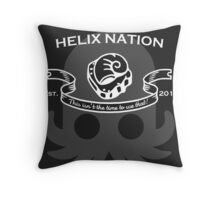 Helix Fossil Nation Throw Pillow