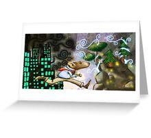 Rat Race Escape Greeting Card
