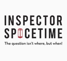 Inspector Spacetime by shahidk4u