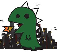 DinoCity Vector Style by ChildoftheBull